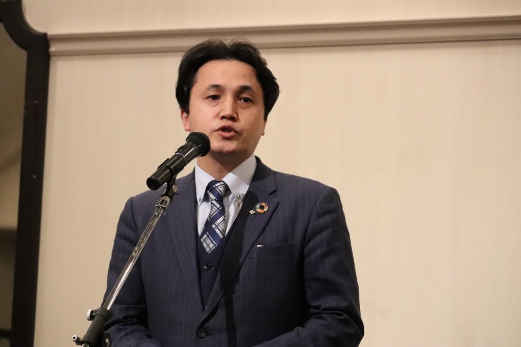 山田健一郎あいさつ